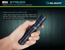 Đèn pin Olight M1X Striker