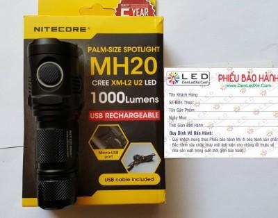Đèn pin Nitecore MH20