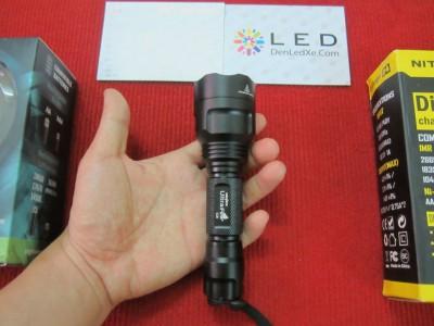 Đèn pin Ultrafire C8 - CREE XP-L HI V2