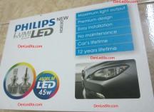Đèn Pha Led Xe Philips Lumileds trợ sáng cho xe máy, Ô tô