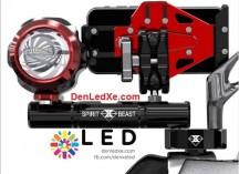 Pad nhôm Cnc gắn nối chân gương gắn đèn trợ sáng - denledxe.com