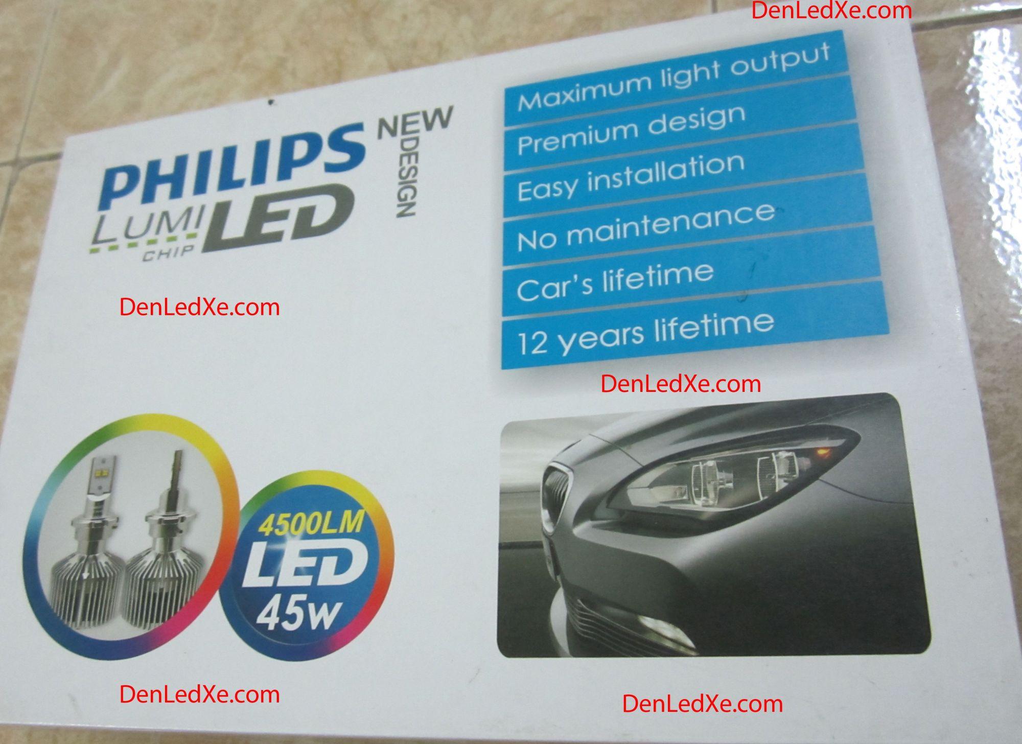 Đ 232 N Pha Led Xe Philips Lumileds Trợ S 225 Ng Cho Xe Hơi Xe